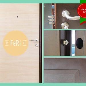 Метална врата FeRi F4201