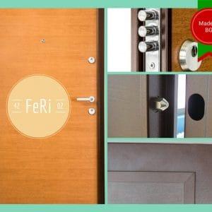 Метална врата FeRi F4202
