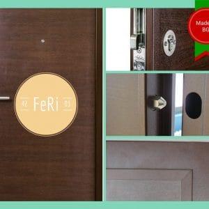 Метална врата FeRi F4203