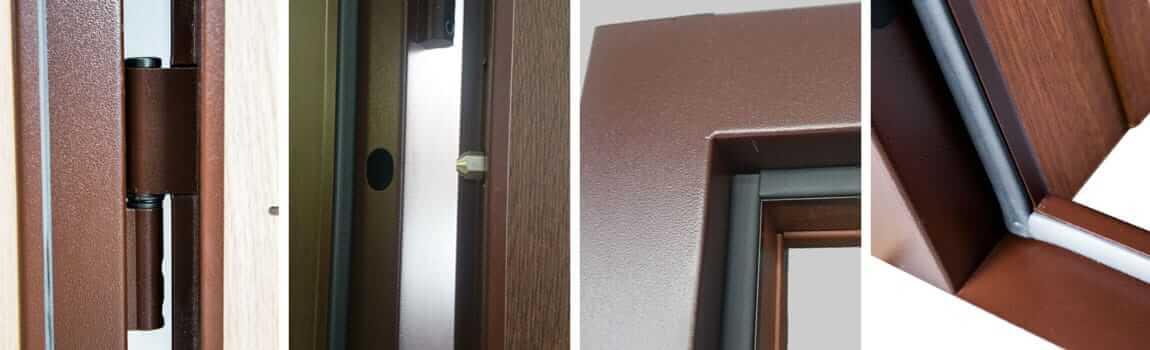 Входни врати FeRi - метална каса