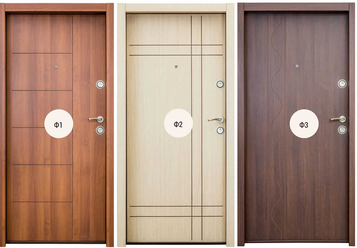 Дизайн входни метални врати FeRi
