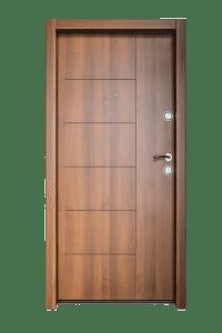 Входна врата за апартамент FeRi - Модел F20 цвят Тик