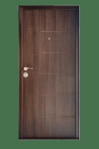 Входна врата за апартамент FeRi - Модел F20 цвят Тъмен дъб