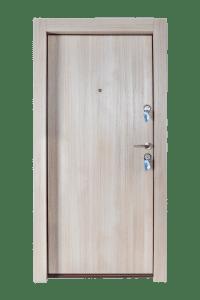 Входна врата за апартамент FeRi - Модел F50 цвят Светъл дъб